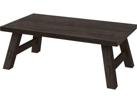 Ebel Charleston Aluminum 48''W x 26''D Rectangular Coffee Table PatioLiving