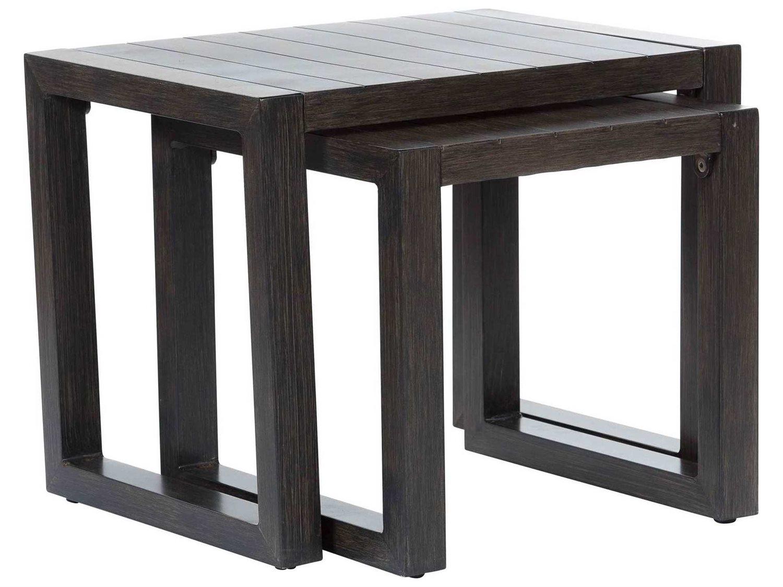 Ebel Portofino Aluminum 18'' Wide Square Small Nesting End