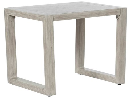 Ebel Portofino Aluminum 24''W x 18''D Rectangular End Table