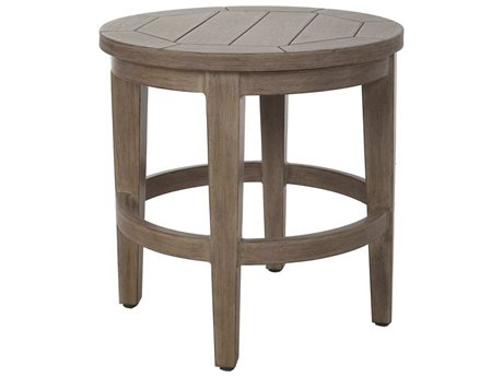 Ebel Portofino Aluminum 20'' Wide Round Side Table