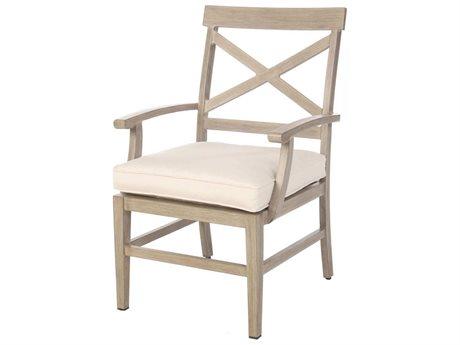 Ebel Portofino Aluminum Dining Arm Chair