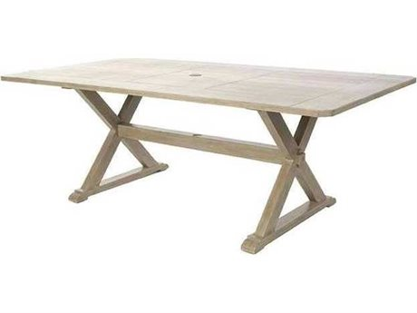 Ebel Portofino Aluminum Rectangular Dining Table Base