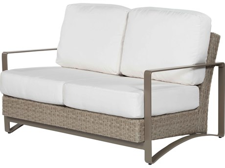 Ebel Closeout - LIMITED AVAILABLITY Dover Oyster Wicker Loveseat