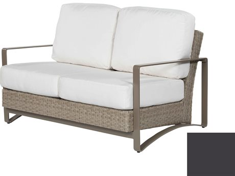 Ebel Closeout - LIMITED AVAILABLITY Dover Mocha Wicker Loveseat