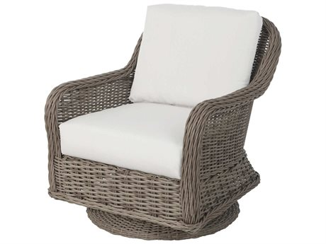 Ebel Bellevue Wicker Swivel Rocker Lounge Chair