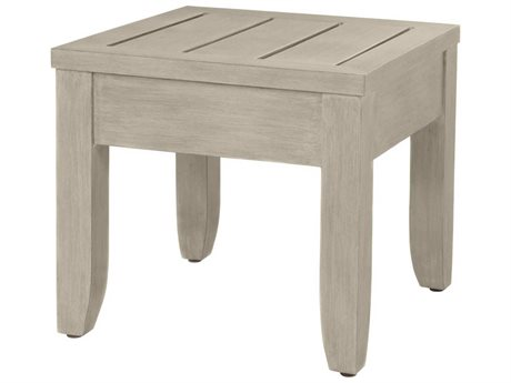 Ebel Napoli Aluminum 24'' Wide Square End Table