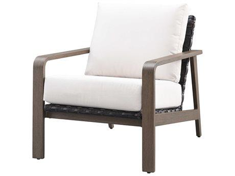 Ebel Antibes Aluminum Wicker Lounge Chair PatioLiving