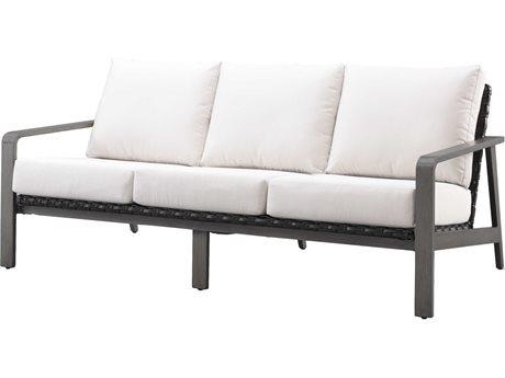 Ebel Antibes Aluminum Wicker Sofa PatioLiving