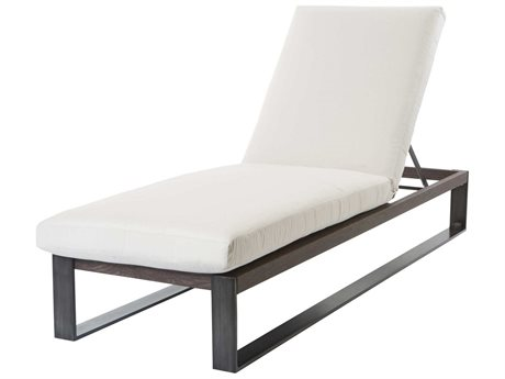 Ebel Lucca Aluminum Adjustable Chaise Lounge with Wheels