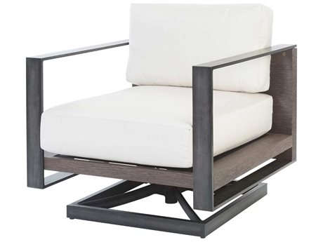 Ebel Lucca Aluminum Swivel Rocker Lounge Chair