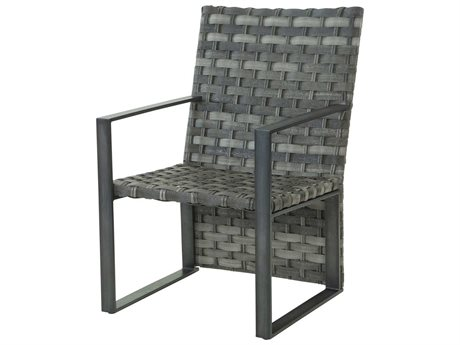 Ebel Lucca Woven Dining Arm Chair
