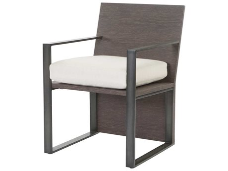 Ebel Lucca Aluminum Dining Arm Chair