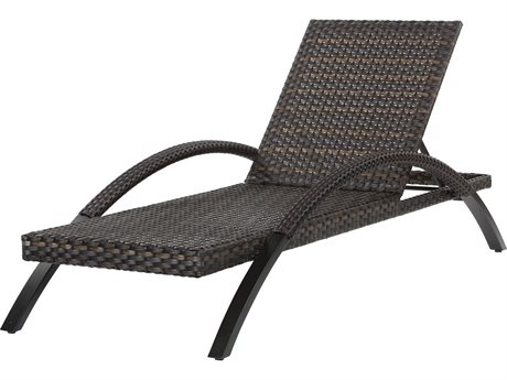 Ebel Tremont Wicker Chaise Lounge