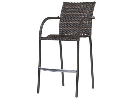 Ebel Tremont Wicker Bar Stool
