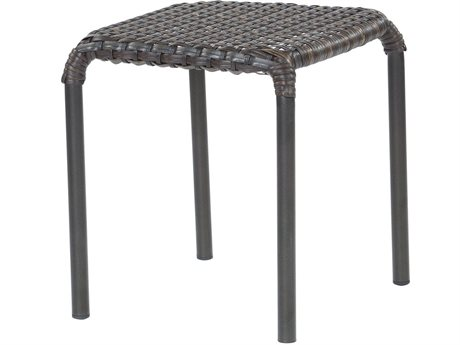 Ebel Tremont Wicker 18'' Wide Square End Table