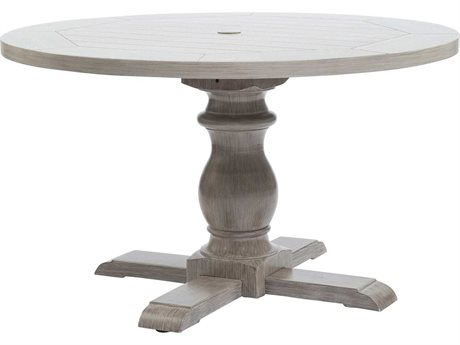 Ebel Mirabella Aluminum Round Pedestal Dining Table Base