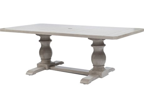 Ebel Mirabella Aluminum Trestle Dining Table Base