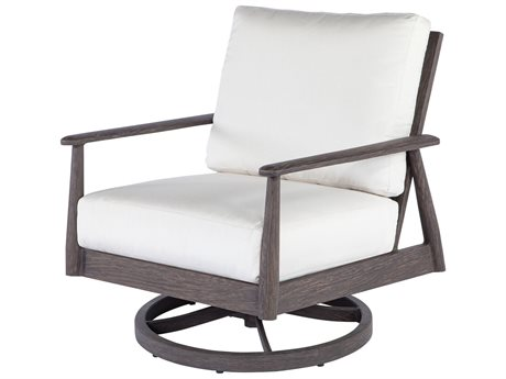 Ebel Augusta Aluminum Lounge Chair Swivel Rocker