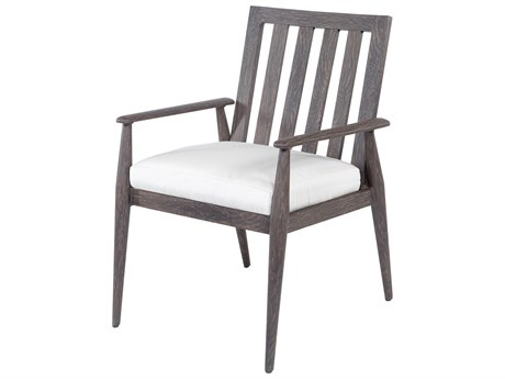 Ebel Augusta Aluminum Dining Arm Chair