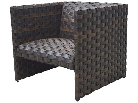 Ebel Allegre Wicker Padded Lounge Chair