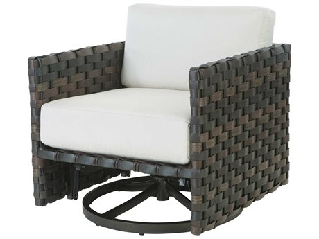 Ebel Allegre Wicker Swivel Glider Lounge Chair