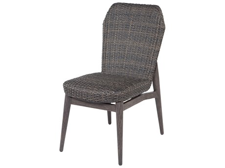 Lasalle Wicker Padded Dining Side Chair