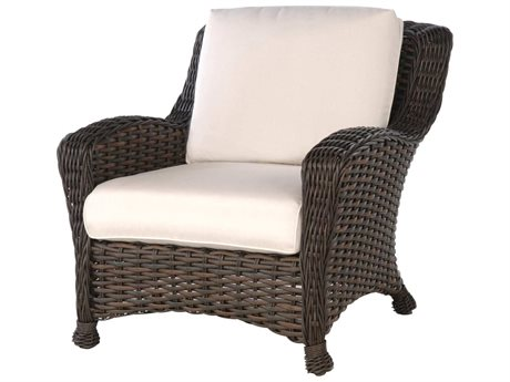 Ebel Dreux Wicker Lounge Chair