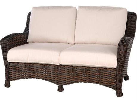 Ebel Dreux Wicker Loveseat