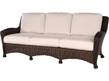 Ebel Dreux Wicker Sofa