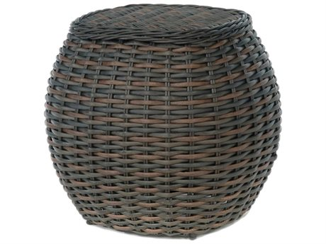 Ebel Dreux Wicker 20'' Wide Round End Table PatioLiving