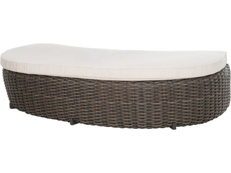 Ebel Dreux Wicker Daybed Ottoman