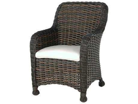 Ebel Dreux Wicker Dining Arm Chair PatioLiving
