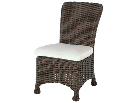 Ebel Dreux Wicker Dining Side Chair PatioLiving