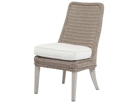 Ebel Geneva Wicker Dining Side Chair PatioLiving