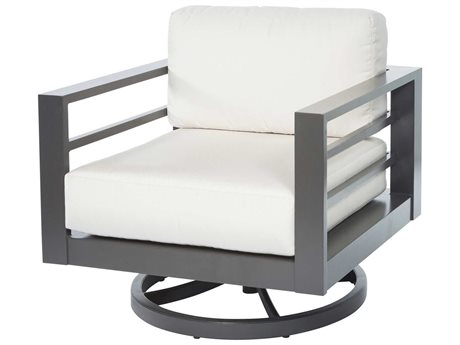 Ebel Palermo Aluminum Swivel Rocker Lounge Chair