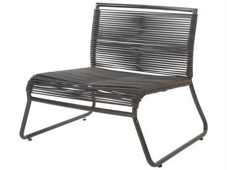 Ebel Monaco Wicker Armless Lounge Chair