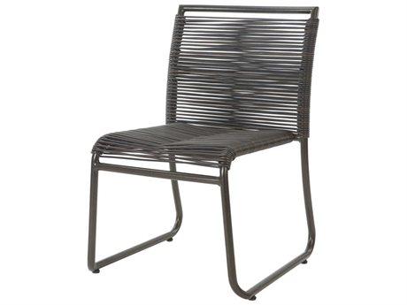 Ebel Monaco Wicker Dining Side Chair PatioLiving