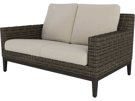 Ebel Remy Wicker Loveseat PatioLiving