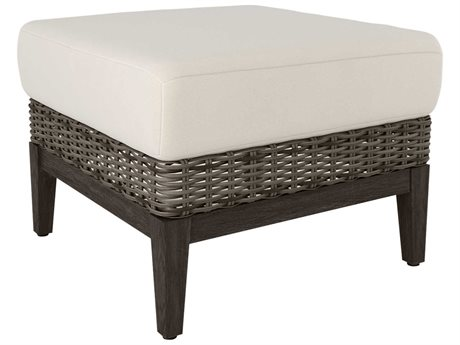 Ebel Remy Wicker Ottoman PatioLiving