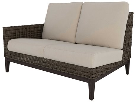 Ebel Remy Wicker Right Arm Loveseat PatioLiving