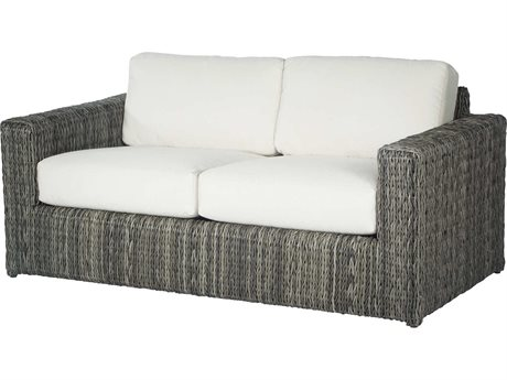 Ebel Orsay Wicker Loveseat