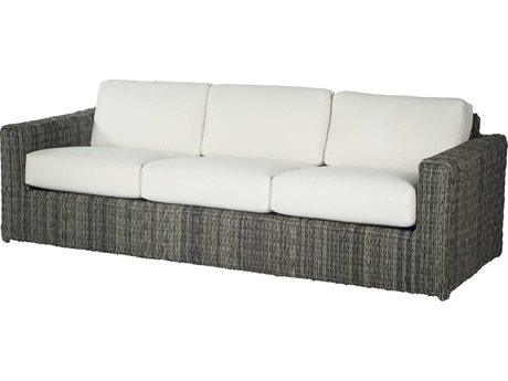Ebel Orsay Wicker Sofa