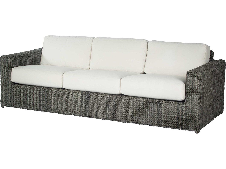 Ebel orsay wicker sofa