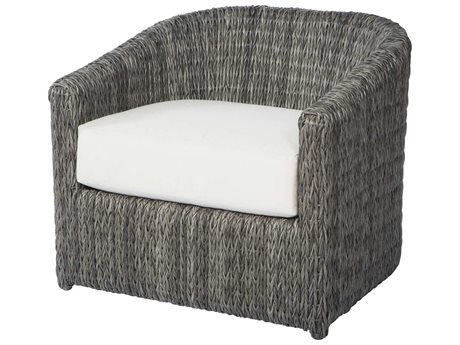 Ebel Orsay Wicker Barrel Occasional Lounge Chair