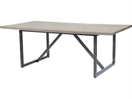 Ebel Amalfi Aluminum Carbon Dining Table Base