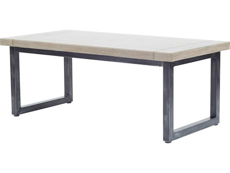 Ebel Amalfi Aluminum Carbon Coffee Table Base
