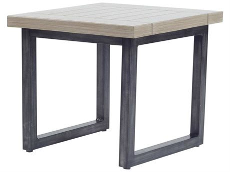 Ebel Amalfi Aluminum Carbon End Table Base