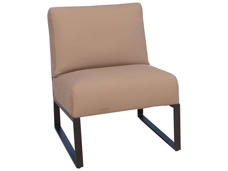 Ebel Closeout - LIMITED AVAILABLITY Newport Oyster Aluminum Side Chair