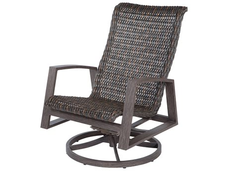Ebel Mirasol Wicker Swivel Rocker Lounge Chair (Sold in 2)