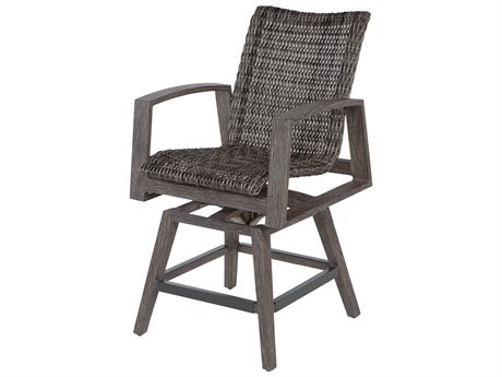 Ebel Mirasol Wicker Swivel Counter Height Stool